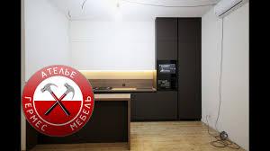 Кухня <b>Fenix</b> + Телевизор в ФАСАДЕ. Обзор № 70. - YouTube