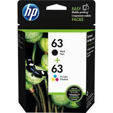 <b>Hp</b> 63 Color And Black Ink Cartridge Combo <b>2 Pk</b>. | Ink Cartridges ...