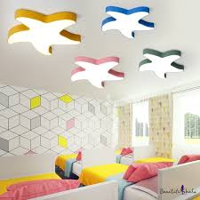 Novelty Starfish <b>Ceiling Light Children</b> Bedroom Acrylic <b>LED</b> Flush ...
