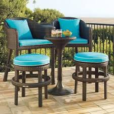 got a view from your apartment balcony make sure you can see it by using patio furniture for small patios