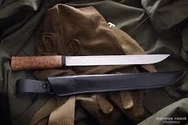 <b>Нож Бурятский большой</b> Карельская береза Златоуст АиР ...