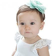Quner <b>1 pcs Kids</b> Girl Baby Toddler Lace Flower Headband Hair ...