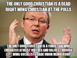 The only good Christian is a dead right wing christian at the ... via Relatably.com