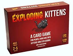 <b>Exploding Kittens</b> Card Game - Family-Friendly <b>Party</b> Games - Card ...