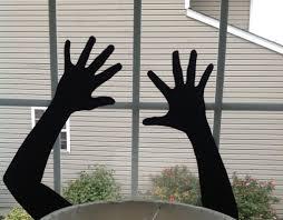 love halloween window decor:  images about halloween decor on pinterest pumpkins deer makeup and haunted house props