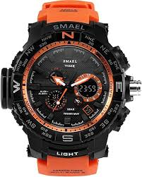 Psalmtrading <b>SMAEL Men's</b>/Women's Sports Analog <b>Quartz</b> Watch ...