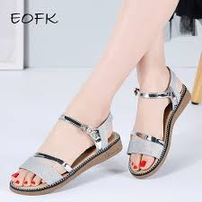 EOFK <b>Women</b> Sandals <b>2019 New Summer</b> Sandals for <b>Women</b> Flat ...