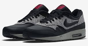 nike air max 1 black and grey black grey nike air