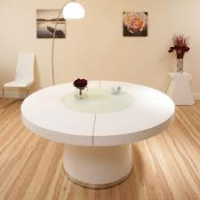 round glass extendable dining table:  images about unique dining tables on pinterest large round dining table stainless steel and table bases