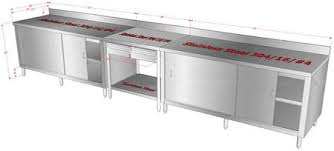 stainless kitchen work table: customized stainless steel work tables storage cabinet customized stainless steel work tables