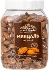 Купить <b>Миндаль Grand Master</b> жареный 570г с доставкой на дом ...