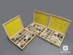 102-15/4 Систематическая коллекция минералов и ...