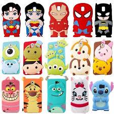 <b>3D</b> Cute Cartoon Super Hero <b>Silicone Soft</b> Case Cover For ...