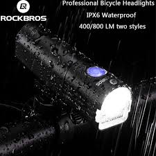 <b>ROCKBROS</b> Professional <b>Bicycle</b> Headlights, Night Riding ...