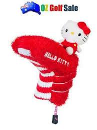 "<b>1pcs</b> Hello Kitty Golf ""Mix & Match"" Blade Putter Headcover <b>Red</b> ..."