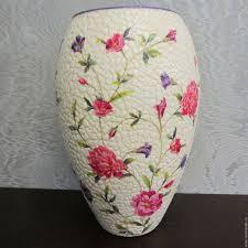 Купить <b>Вазы</b> ручной работы. Стеклянная <b>ваза</b> Flora ...