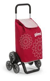 <b>Сумка</b>-<b>тележка Gimi Tris Floral</b> красная