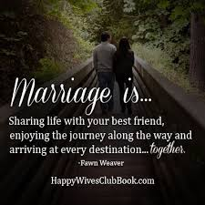 Quotes About Happy Marriage Life - quotes on happy married life ... via Relatably.com