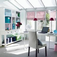 modern bright office arrangement design ideas below slanted full filename skylight ceiling and pink stripes shutter bright office room interior