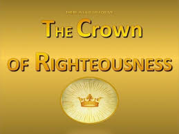 Image result for a crown of righteousness bible