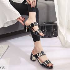 Women <b>Fish</b> Mouth Slipper High Heels Sandals Antiskid Toes <b>Party</b> ...