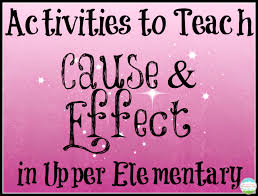 teaching a mountain view teaching cause and effect in upper since my students already knew what cause and effect was we did a very brief cause and effect interactive notebook journal entry just two tabs and a