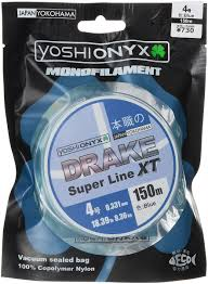 "<b>Леска Yoshi Onyx</b> ""<b>Drake</b> Super Line XT"", цвет: голубой, 150 м ..."