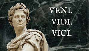 「Veni, vidi, vici」の画像検索結果