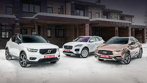 Выбираем из кроссоверов Infiniti QX30, <b>Jaguar</b> E-Pace и Volvo ...