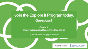 explore it career exploration at the uoft career centre explore it career exploration at the uoft career centre