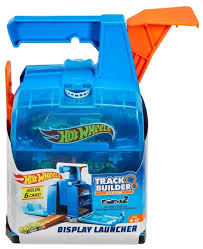 <b>Трек</b> Hot Wheels <b>Track</b> Builder Display <b>Launcher</b> GCF92 — купить ...