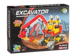 Купить <b>Конструктор Dragon Toys Страйп</b> Экскаватор JH6915 ...