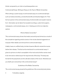 censorship essay topics template censorship essay topics