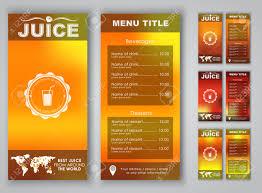 menu design blurred background flyers banners brochures menu design blurred background flyers banners brochures for advertising juice