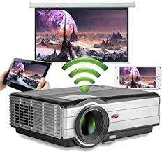 Android 6.0 Bluetooth WiFi Home Theater Projector for <b>Home Office</b> ...