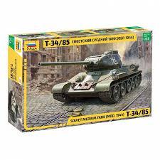 <b>Сборная модель Звезда</b> 3687 <b>Советский</b> средний танк Т-34/85 ...