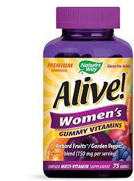Nature's Way <b>Alive</b>! Women's Premium <b>Gummy Multivitamin</b>, Full B ...