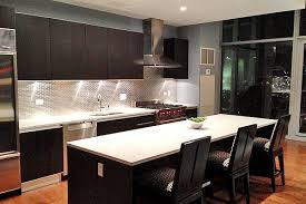 backsplash ideas dark cabinets create  elegant dark kitchen cabinets with light granite home interior design
