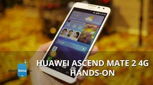 Huawei Ascend Mate 2 4G hands-on - YouTube