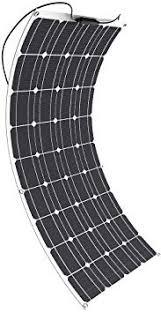 Solar Panel GIARIDE 18V 12V 100W Flexible ... - Amazon.com
