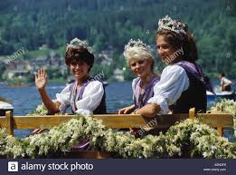 narcissus festival on grundlsee lake area of ausseerland region of stock photo narcissus festival on grundlsee lake area of ausseerland region of salzkammergut county of styria