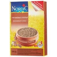 <b>Nordic Хлопья гречневые</b>, <b>370</b> г — Каши — купить по выгодной ...