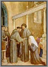 Image result for st clare and francis of assisi