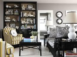 photo modern chic gray black white and yellow living chic yellow living room