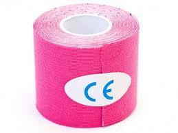 <b>Кинезио лента Physio Tape</b> 5cm x 5m Pink - Чижик