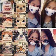 3D Print <b>Cartoon Dust Mask</b> Personality Funny Respirator Outdoor ...
