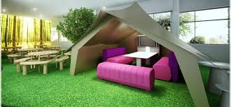 cool office design ideas tent meeting area for informal meetings amazing office design ideas work