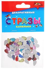 <b>Апплика Набор для творчества</b> Стразы Капельки — купить в ...