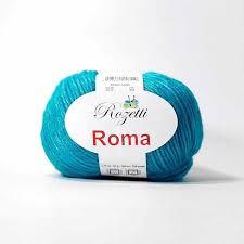 <b>Пряжа Rozetti Roma Цвет</b>.<b>201-14</b> Бирюза, купить в интернет ...