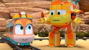 Роботы-поезда - сезон 2 – Детектив <b>Джинни</b> - <b>трансформеры</b> ...
